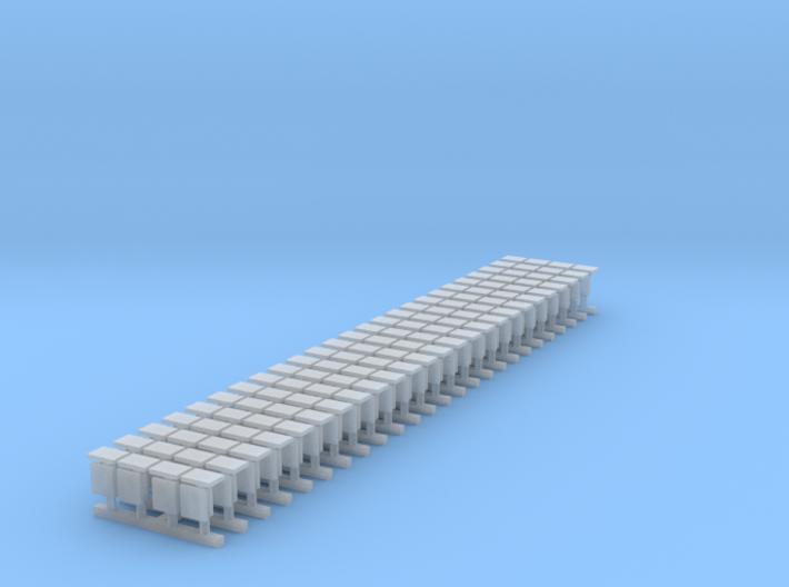 WIA buffers (25 x 4 pack) 3d printed