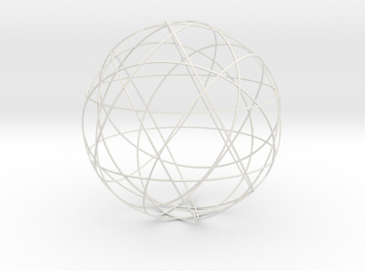 Stripsphere 12b, large 3d printed