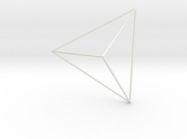 Tetraedro1 3d printed