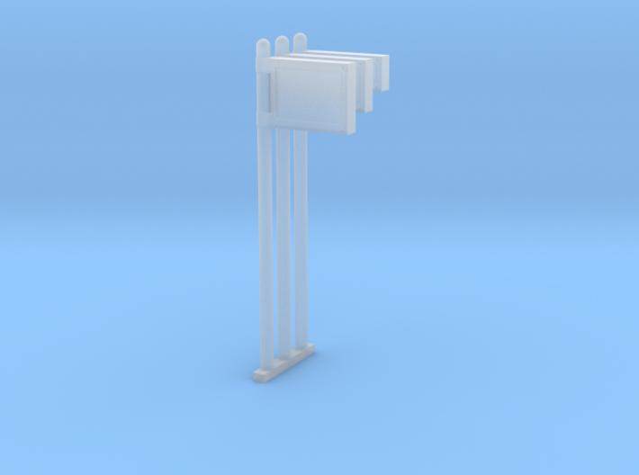 Wiener FGI-Säulen in H0 (1:87) 3d printed