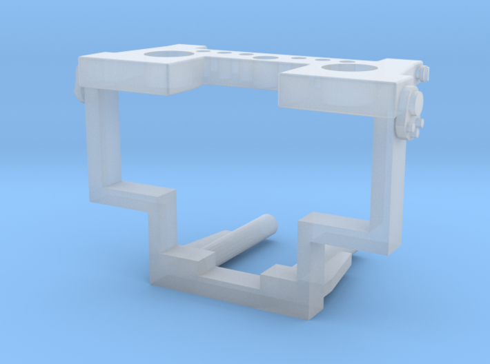 LKW-Vorbauplatte 3d printed