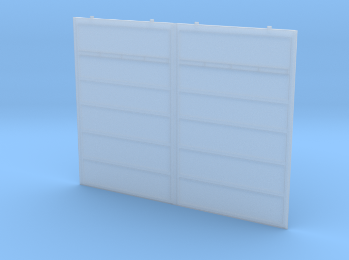 Double 8 Ft Superior 6 Panel Plate F Door 3d printed