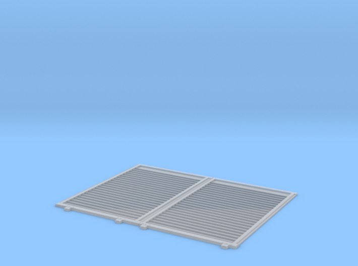 YSD Industries Double 8ft Plate F Door Pair Assy 3d printed