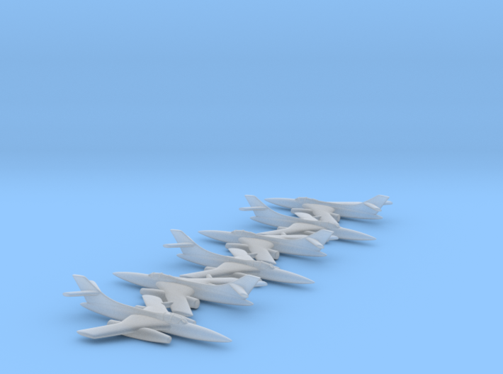 YAK-28 6-Pack 1/600 Scale 3d printed