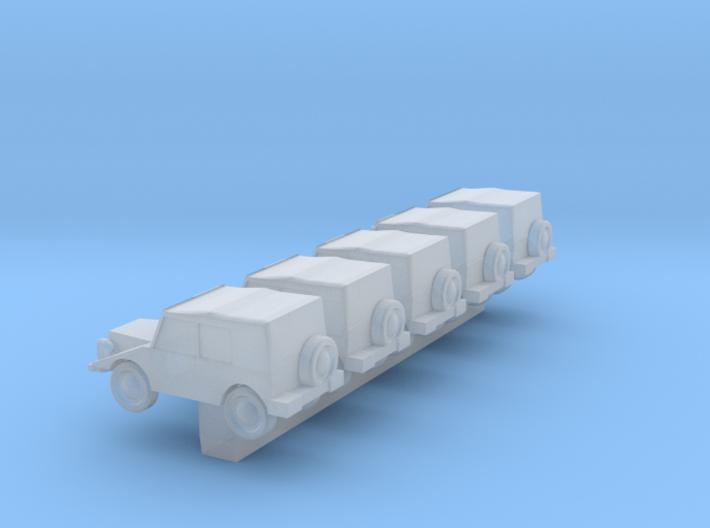 1/600 DKW Munga 3d printed
