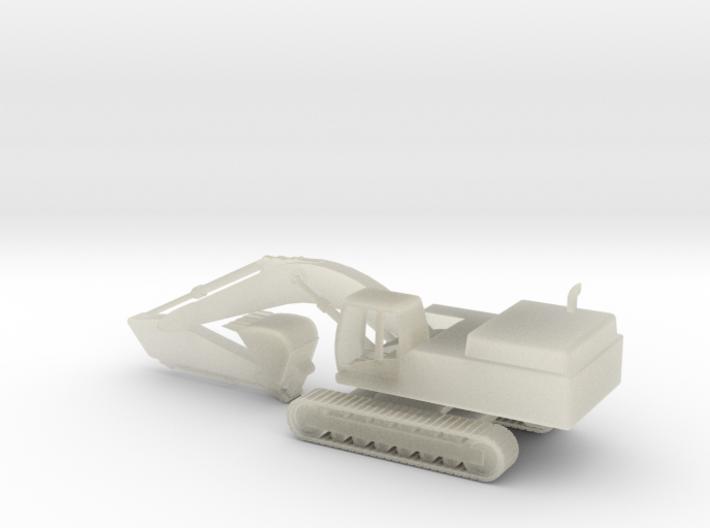 Back Hoe Ship 3d printed