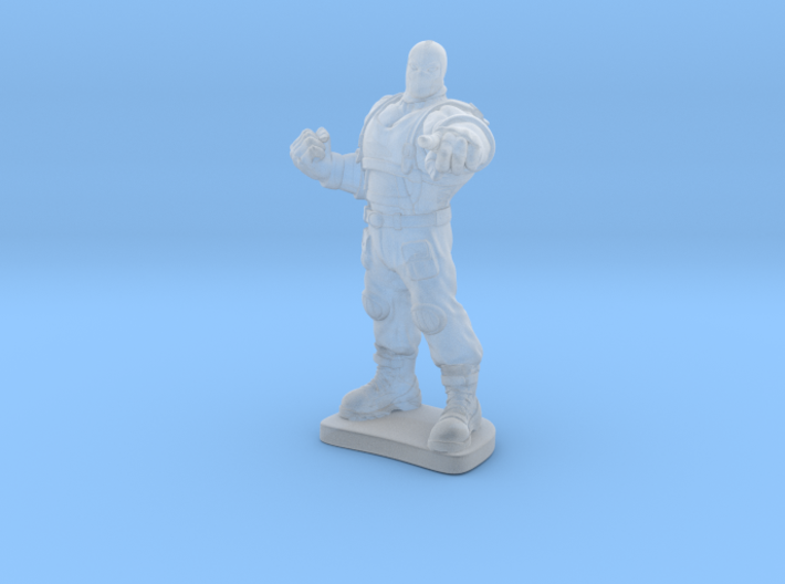 The Big Lucha 3d printed