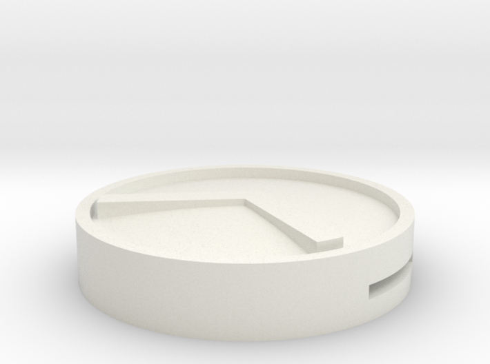 Spartan Shield Round 3d printed