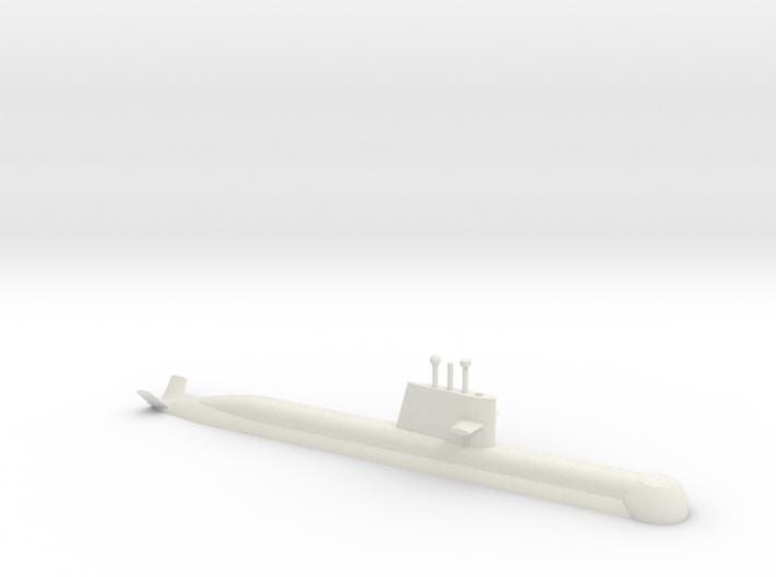 1/700 Collins Class Submarine (Waterline) 3d printed