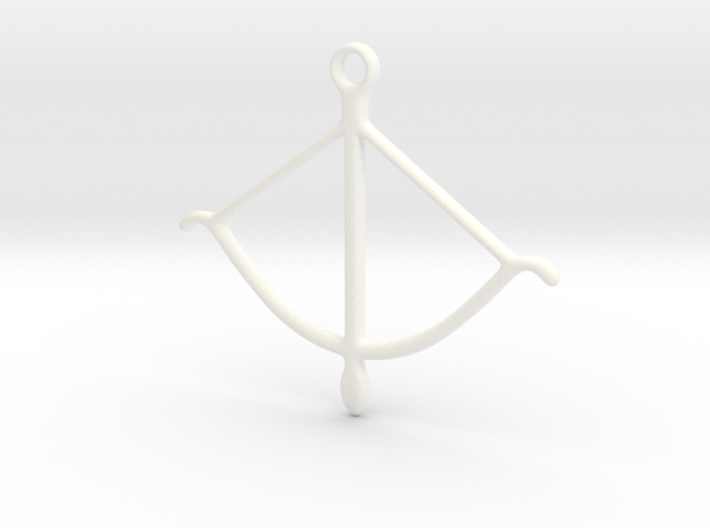bow pendant 2 3d printed