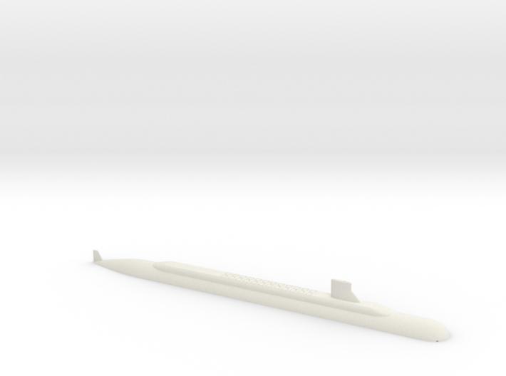 1/700 SSBN-X Class Submarine (Waterline) 3d printed