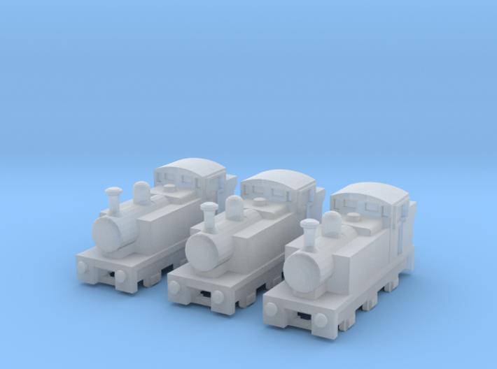 T-gauge Jinty Tank Engines - Uses Eishindo Wheels 3d printed