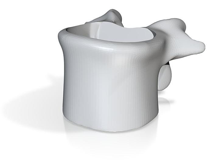Wervelkoffiekop schaal 1.5:1 3d printed