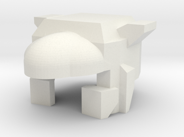 Robohelmet: Wrecked Roadie 3d printed