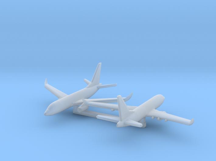1/1200 Boeing 737-700 3d printed