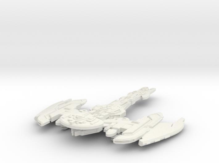 Brinok Class Battleship 3d printed