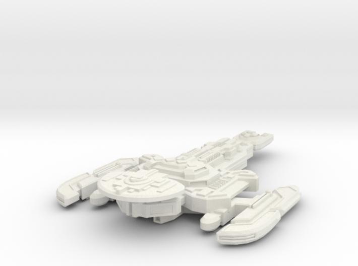 Nerok Class Destroyer 3d printed