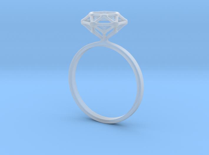 Diamond Ring 52 3d printed