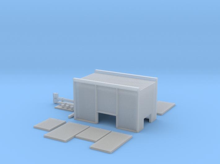 Opbouw Ziegler tankautospuit voor Herpa 3d printed