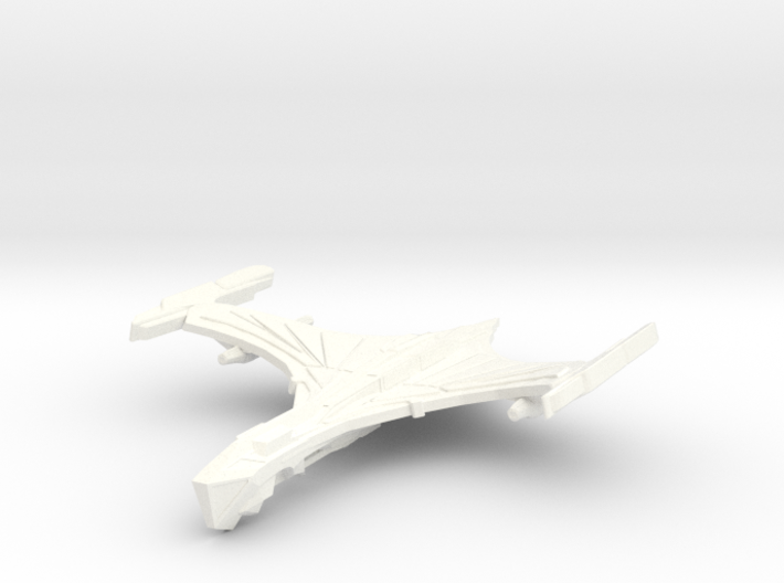 DeathHawk Class Cruiser ( Wings Up ) 3d printed