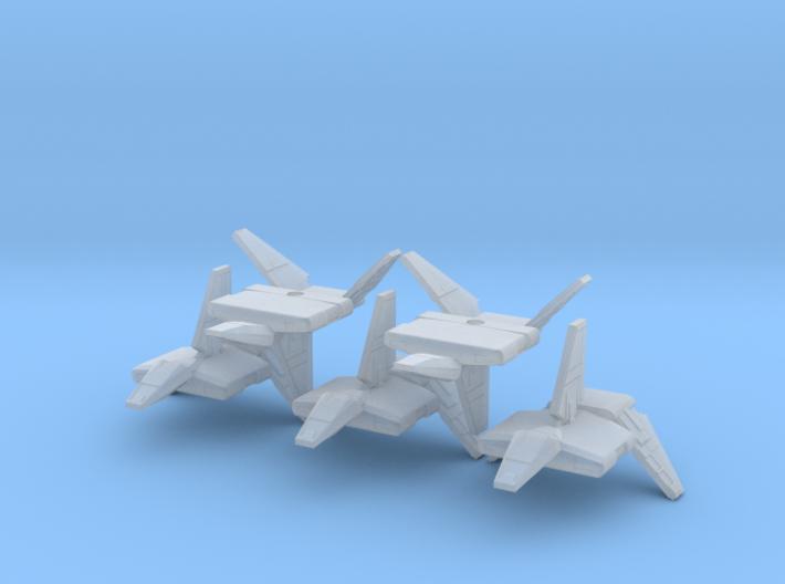 1/1000 Sentinel 5x 3d printed
