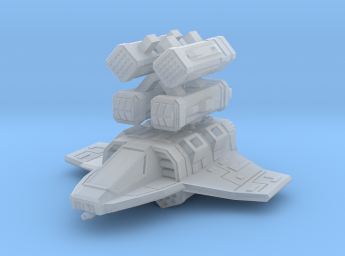 Empire Tau Class Missile Boat 1/270 3d printed