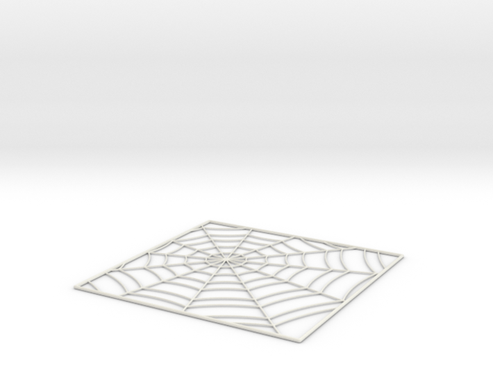 SpiderWebTileStep5 3d printed