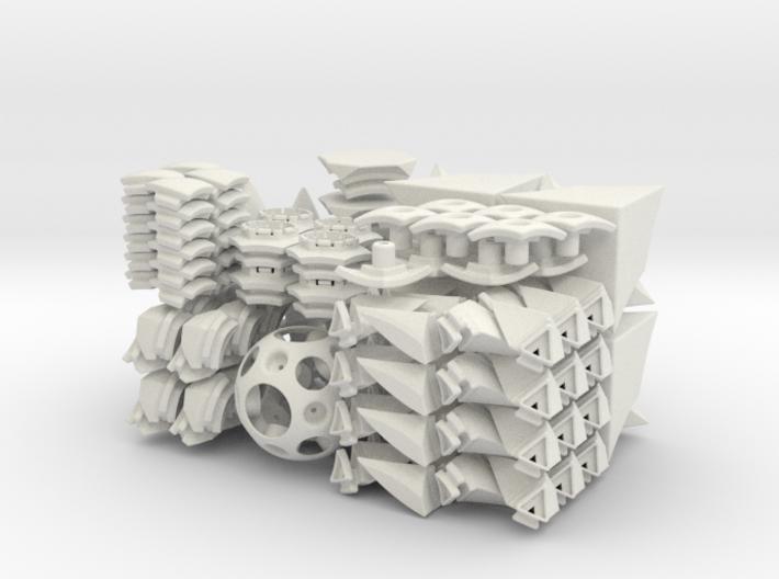 Cubic Toru Puzzle 3d printed