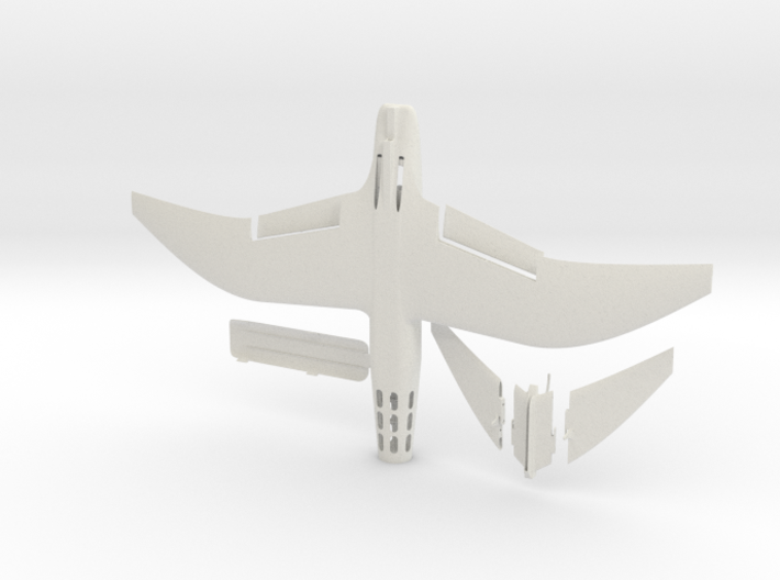 Wind Skimmer - DPF1 - Solid 3d printed