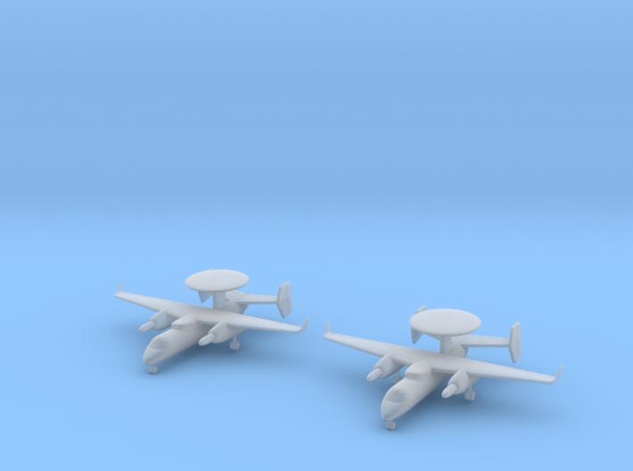 1/350 Yakovlev Yak-44 (x2) 3d printed