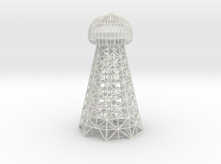 Tesla Tower Replica 3d printed