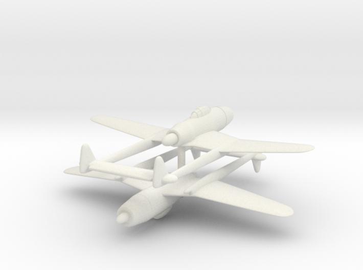 1/300 Tachikawa Ki-94-1 (x2) 3d printed