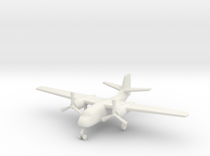 1/285 (6mm) S-2 Trader 3d printed