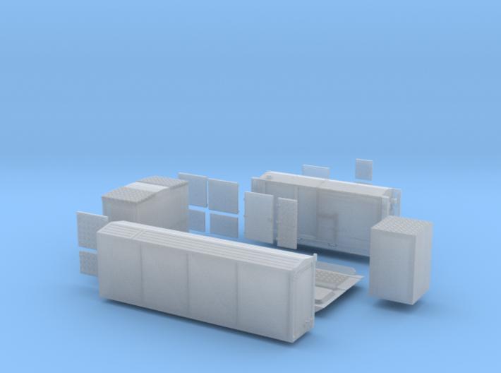 AB HFS neue Ausführung mit Tragrahmen 3d printed