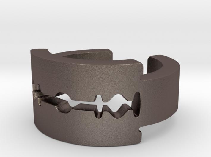 Gillette Ring 3d printed