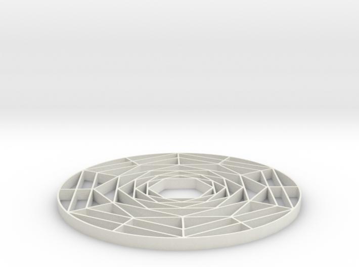 Spiral shape 3d printed