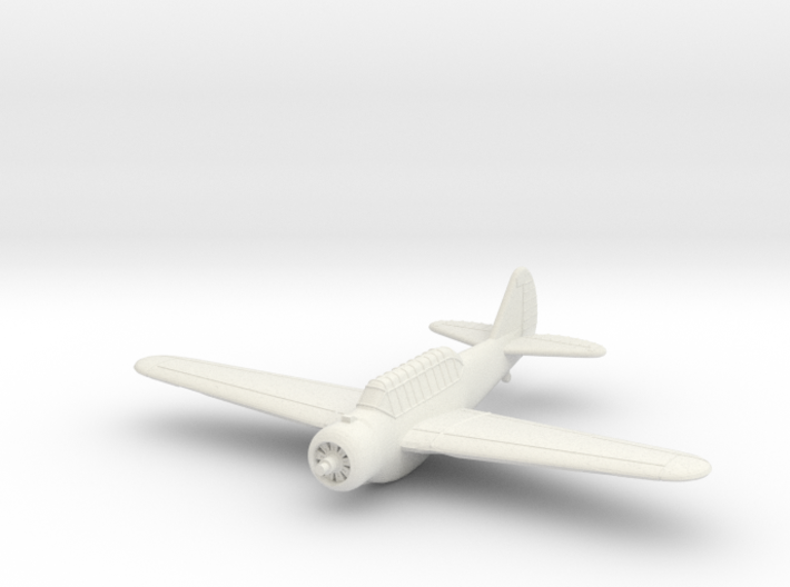 1/100 North American O-47 3d printed