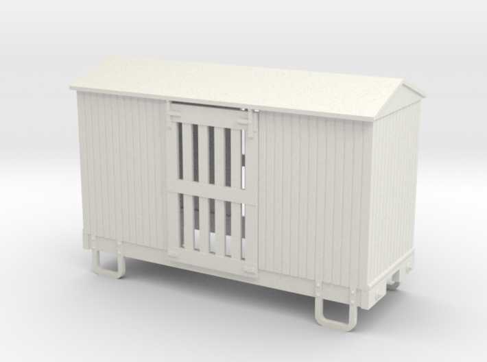 On18/On20 12ft 4w ventilated boxcar 3d printed