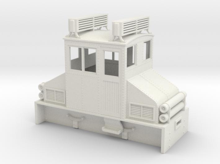 On18 Steeplecab diesel 3d printed