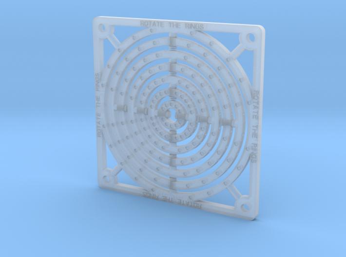 Tile - Rings 3d printed
