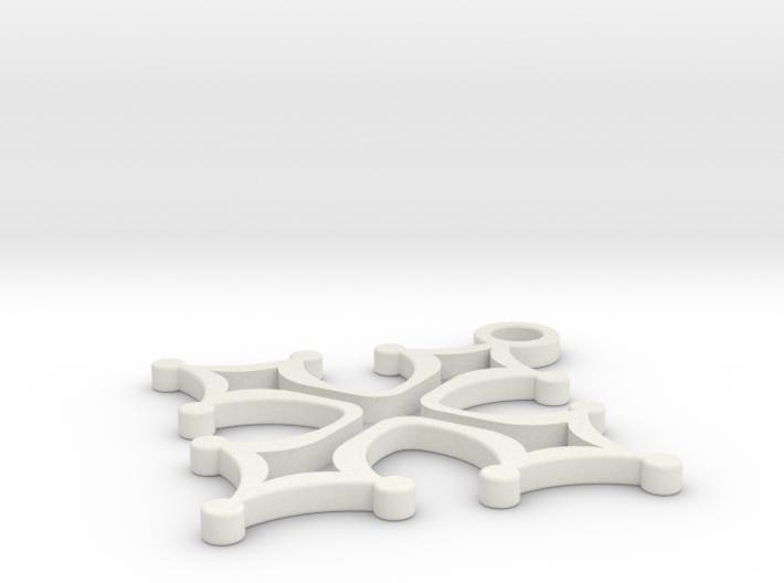 Cross 1 (repaired) (repaired) 3d printed