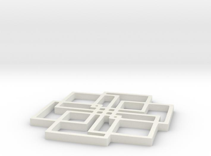 Geoform nine - 2inch 3d printed