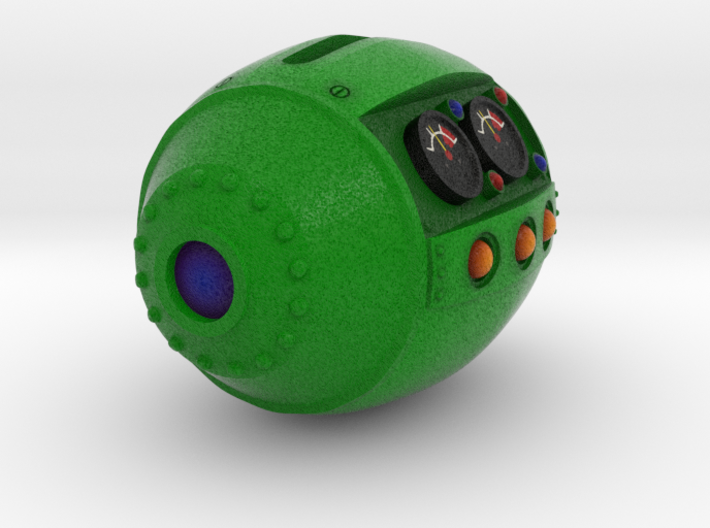 The Kokinz Q-bomb 3d printed