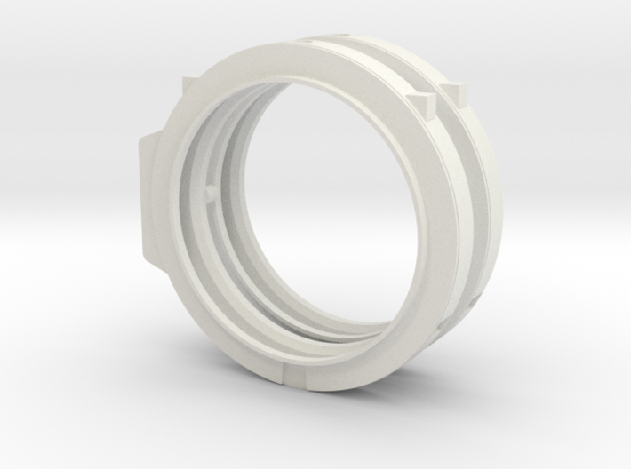 1/72 scale ET ATTACH RING Assembly 3d printed