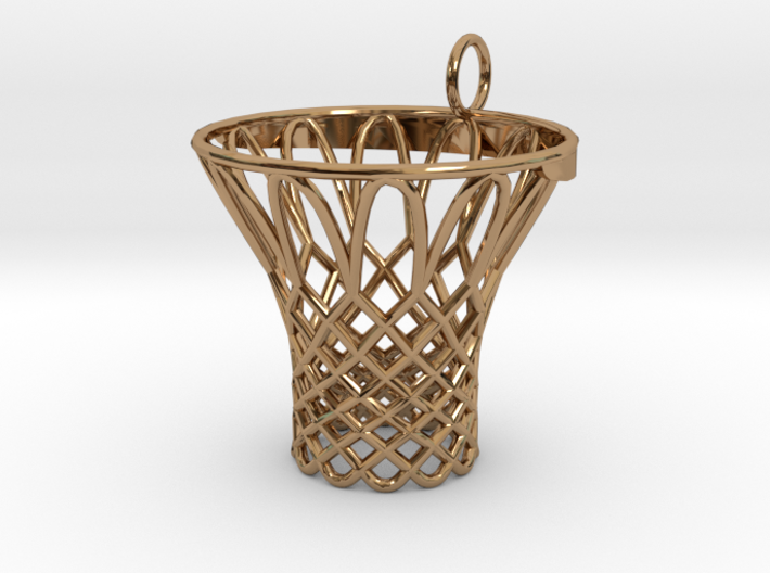 Pendant Basketball Hoop 3d printed