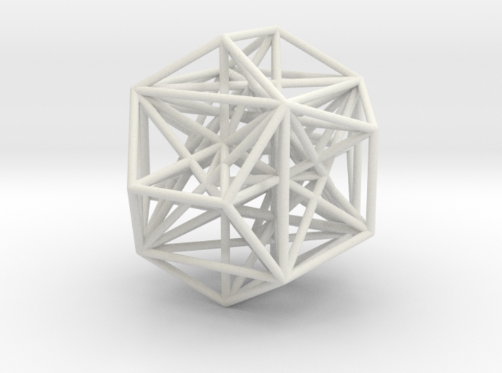 MorphoHedron9 3d printed