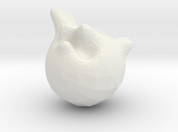 bear face 3d printed