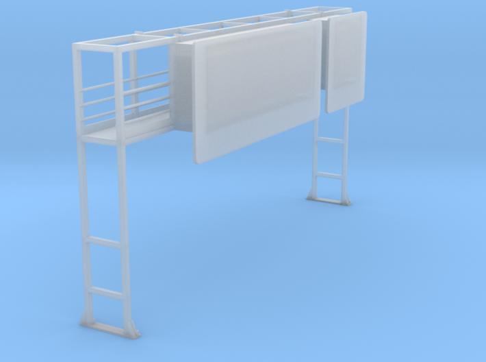 Schilderbrücke Für Diorama.stl 3d printed
