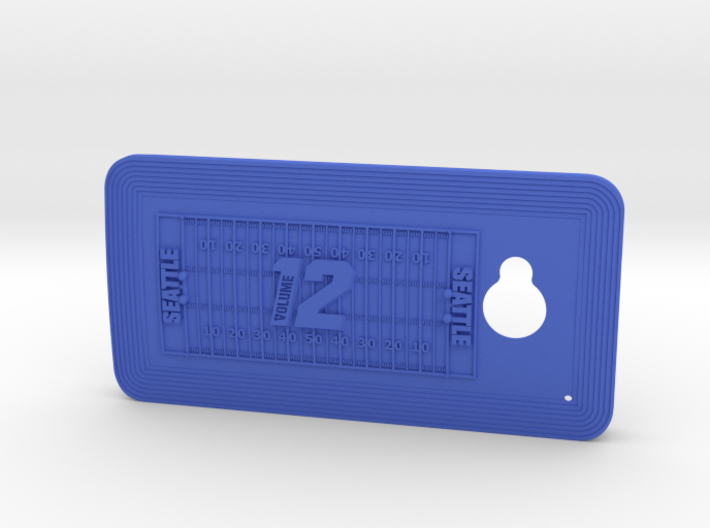 HTC One 12th Man case 3d printed