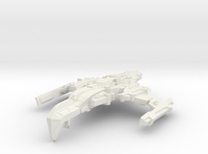 Starglider Class Cruiser 3d printed